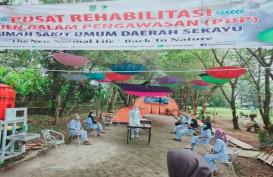 RSUD Musi Banyuasin Bikin Ruang Isolasi PDP Corona Berkonsep Camping Outdoor