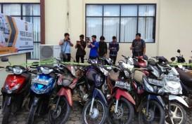 700 Sepeda Motor Dicuri di Jayawijaya, 200 Motor Ditemukan