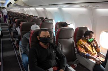 Lion Air Adakan Jaga Jarak Fisik di Dalam Pesawat, Ini Skemanya