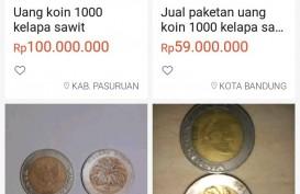Sedang Viral, Uang Koin Rp1.000 Kelapa Sawit Dijual Ratusan Juta