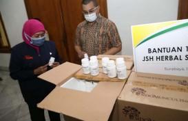 Peduli Covid-19, Sido Muncul Kirim Bantuan 1.500 JSH Herbal ke Jatim
