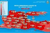 WABAH COVID-19 : Kasus Jatim Bisa Lampaui Jakarta