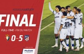 Hasil La Liga, Atletico Madrid Pesta Gol, Masuk Slot Liga Champions