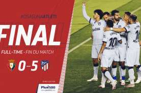Hasil La Liga, Atletico Madrid Pesta Gol, Masuk Slot…