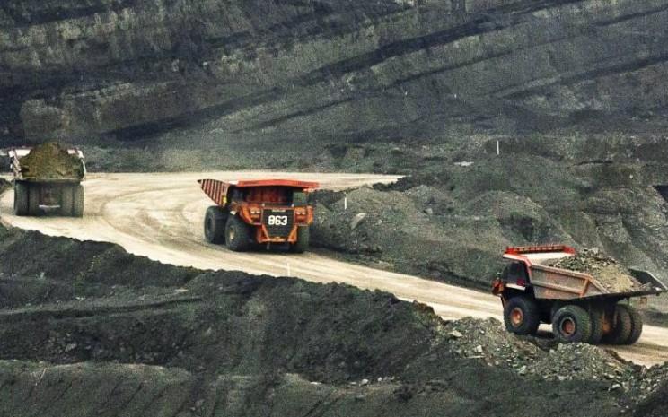 Operasional tambang batu bara kelompok usaha Bumi Resources. - bumiresources.com