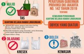Mulai 1 Juli 2020, Pasar Rakyat hingga Pusat Perbelanjaan di DKI Dilarang Gunakan Kantong Plastik