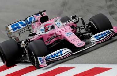 F1 : Lance Stroll & Racing Point Mulai Latihan di Silverstone