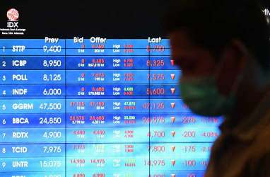 Bursa Asia Melemah, IHSG Tertekan Saham BBCA dan UNVR