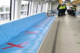 Penumpang LRT Sumsel Mulai Bertambah di Tengah PSBB…