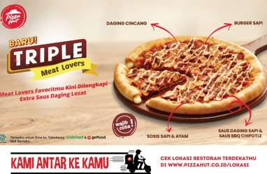Emiten Restoran Pizza Hut (PZZA) Sajikan Dividen Rp90 Miliar