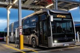 Daimler Perkenalkan Bus Gandeng Listrik e-Citaro G