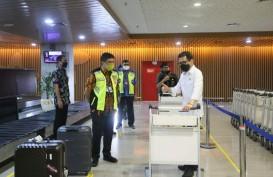 Menparekraf Wishnutama Apresiasi Penerapan Protokol Kesehatan di Bandara I Gusti Ngurah Rai Bali
