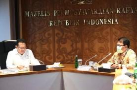 Pimpinan MPR Sepakat Menghentikan Sementara Pembahasan…
