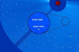 Soho Temukan Komet ke 4.000