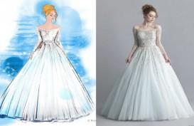 Wow, Deretan Gaun Pengantin Ini Terinspirasi Tokoh Putri di Cerita Disney