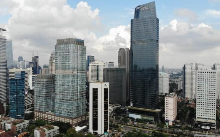 Suasana kantor pusat PT Astra International Tbk (ASII) di kawasan Jln Sudirman, Jakarta pusat, Selas (16/6). - Nurul Hidayat