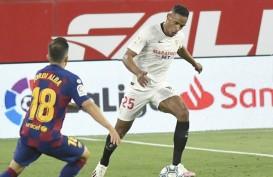 Hasil La Liga : Barcelona Seri di Sevilla, Madrid Bakal Pimpin Klasemen