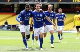 Hasil Liga Inggris : Ditahan Leicester, Watford Terancam…