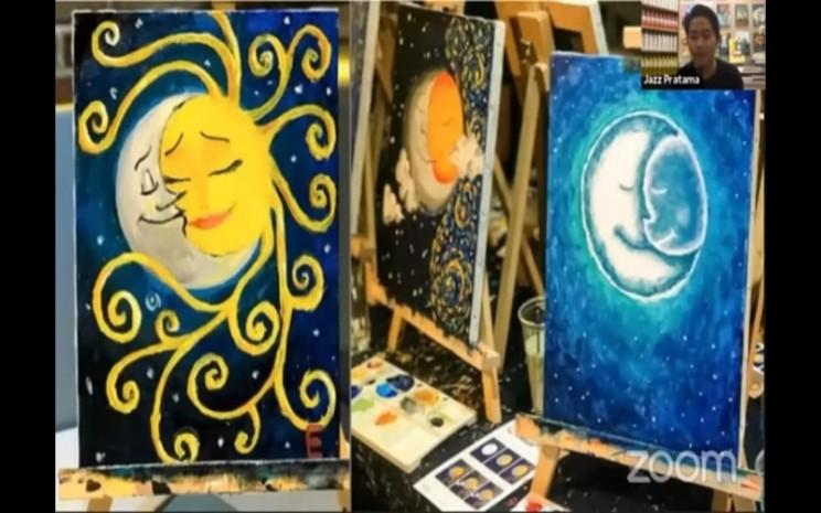 Contoh lukisan -