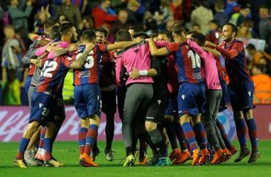Hasil La Liga : Dihajar Levante, Espanyol Terpuruk di Dasar Klasemen