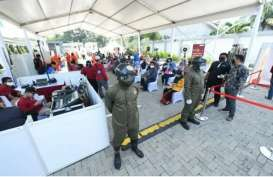 Rapid Test BIN: 1.702 Warga Surabaya Positif Covid-19