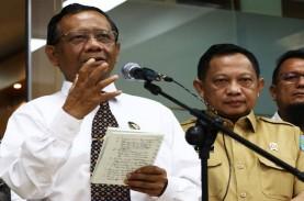 Mahfud MD dan Tito Ucapkan Selamat Ultah kepada Jokowi…