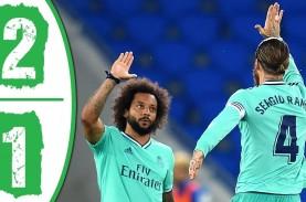 Gol Benzema dan Ramos Bawa Real Madrid Gusur Barcelona…