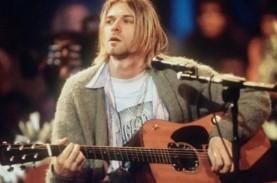 Harga Gitar Kurt Cobain Pecahkan Rekor, Terjual Rp85…