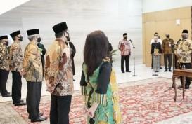 Lantik 5 Deputi KSP, Moeldoko Harap Bisa Bantu Penanganan Covid-19