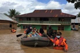 Banjir Konawe Utara, 1.965 Penduduk Mengungsi