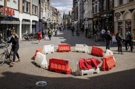 400 Peserta Demo Penentang Lockdown di Belanda Ditangkap…