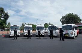 Belasan Unit Isuzu ELF Jadi Feeder di Kota Semarang