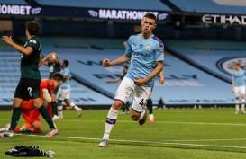 Hasil Liga Inggris, ManCity Sarangkan 5 Gol ke Gawang Burnley
