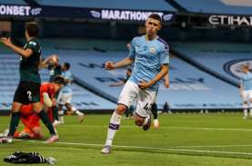 Hasil Liga Inggris, ManCity Sarangkan 5 Gol ke Gawang…