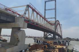 Sempat Terhenti, Pembangunan Jembatan Musi VI Dilanjutkan…