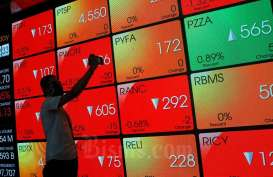 IHSG Koreksi, Net Sell Asing Kembali Tembus Rp500 Miliar