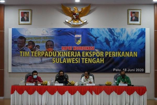 Bea Cukai Pantoloan Ikuti Pembahasan Akselerasi Ekspor Produk Perikanan dari Sulawesi Tengah