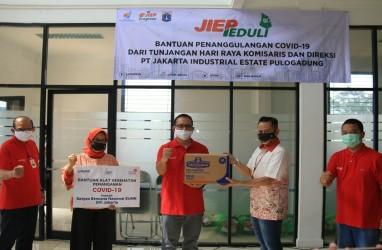 JIEP Berikan Bantuan Untuk 5 RS Rujukan Covid-19 di Jakarta