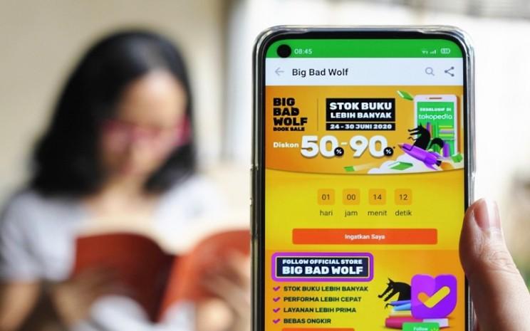 Bazar Buku Online Big Bad Wolf Kembali Digelar di Tokopedia