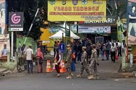 Ratusan Pedagang di 20 Pasar Tradisional di Jakarta…