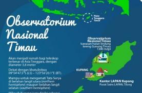 Observatorium Timau Bisa Amati Langit Utara dan Selatan