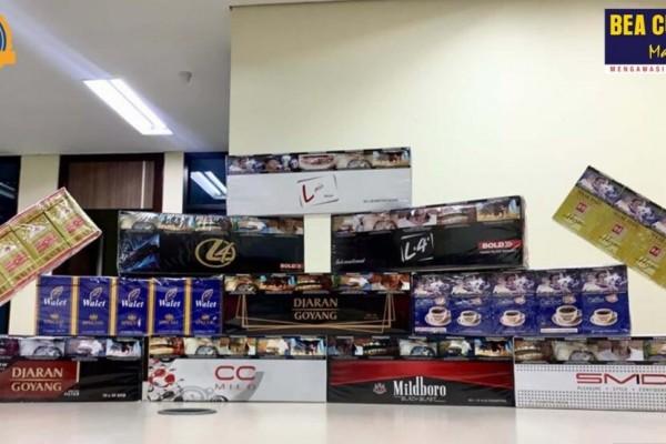 Bea Cukai Gagalkan Peredaran Rokok Ilegal di Jawa Tengah, Kini Modus Berkembang Hingga Dijual Secara Online