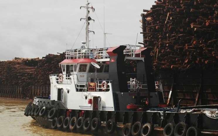 Operasional kapal tunda atau tug boat milik PT Pelayaran Nelly Dwi Putri Tbk. - nellydwiputri.co.id