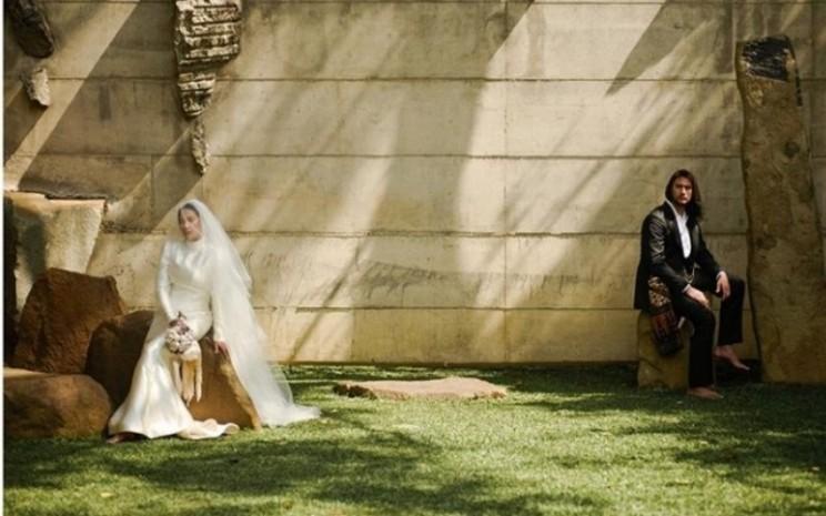 Foto pernikahan Tara Basro dan Daniel Adnan
