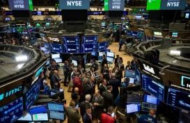 Bursa AS Tumbang di antara Kasus Baru Covid-19 dan Tensi AS-Uni Eropa