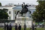 AS Kerahkan Pasukan Garda Nasional Jaga Patung dan Monumen