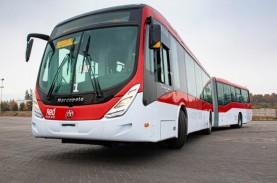 Volvo Pasok 200 Bus Gandeng B8RLE ke Ibu Kota Chili