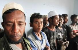 94 Etnis Rohingya Ditemukan di Pulau Seunuddon, Indonesia Prihatin