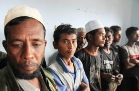 94 Etnis Rohingya Ditemukan di Pulau Seunuddon, Indonesia…