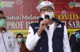 Sandiaga Uno dan Relawan Indonesia Bersatu Lawan Covid-19…